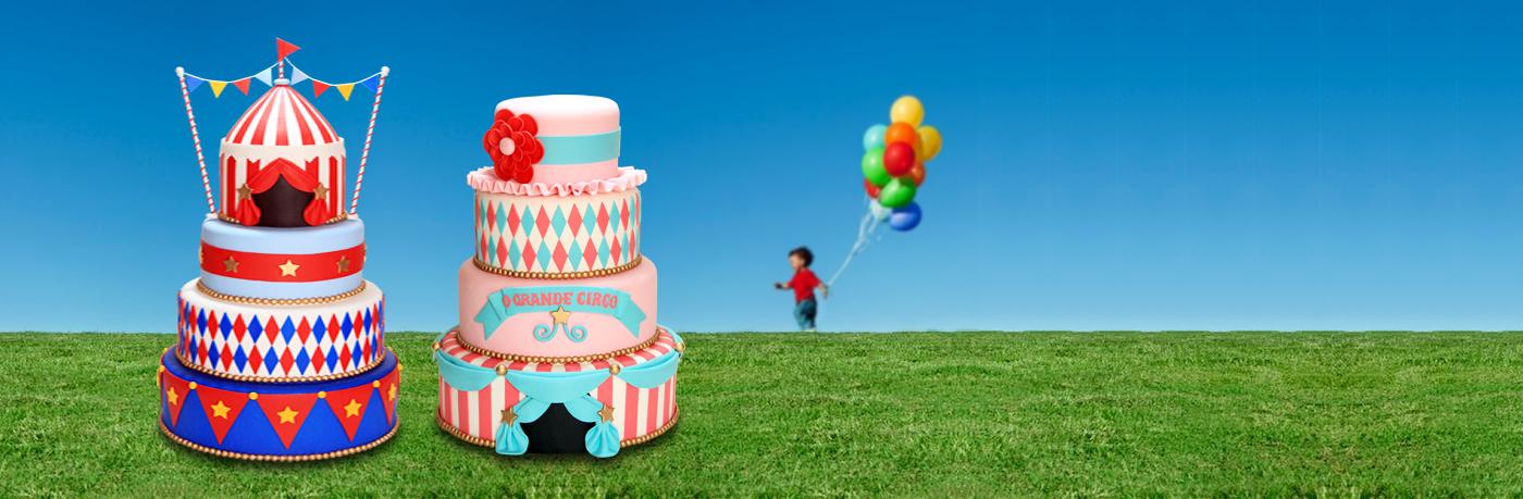 Bolos para aniversário